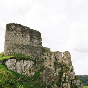 © CD29 - B. Galeron - Vue du Château Roc'h Morvan à La Roche Maurice.