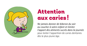 Attention aux caries !