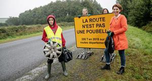 © CD29 - M. Le Gall - Ramassage déchets collèges Landivisiau Sizun 5