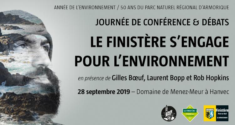 Le Finistère s'engage pour l'environnement - Journée de conférence et de débats